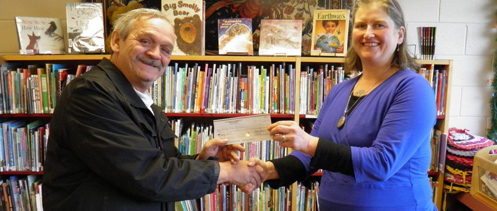 Donation to Books for Babies, 2016